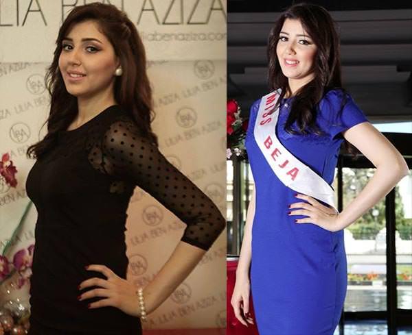 Miss Mundo Tunísia - Meriem Hammami
