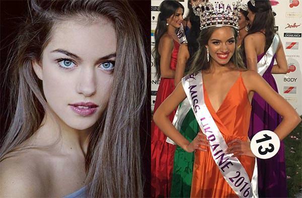 Miss Mundo Ucrânia - Oleksandra Kucherenko