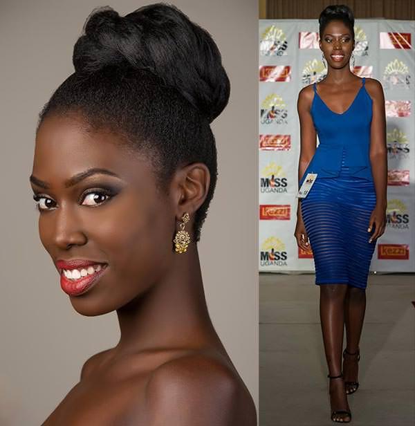 Miss Mundo Uganda - Leah Kagasa