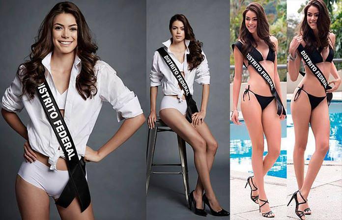 Miss Distrito Federal 2016 - Sarah Souza
