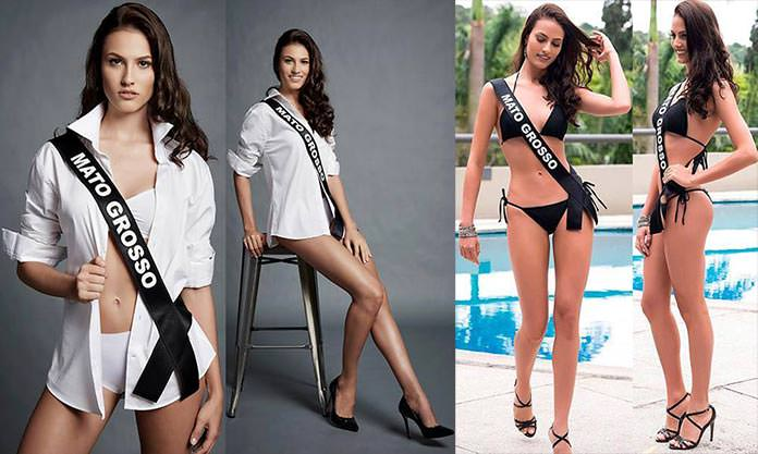 Miss Mato Grosso 2016 - Taiany Zimpel