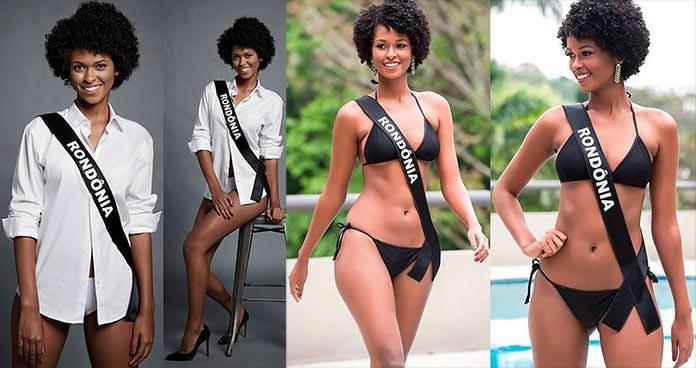 Miss Rondônia 2016 - Mariana Theol Denny