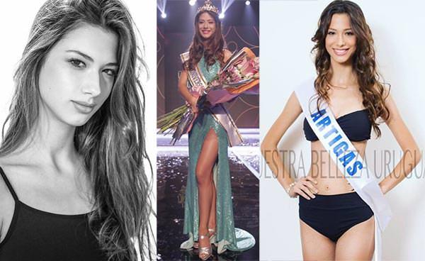Miss Uruguai 2016 - Magdalena Cohendet