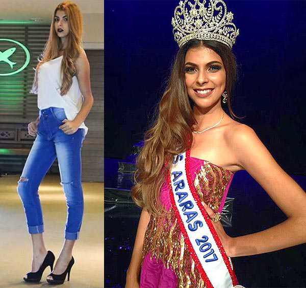 Miss Araras 2017 - Micaela Souza