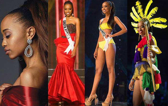 Miss África do Sul 2016 - Ntandoyenkosi Kunene