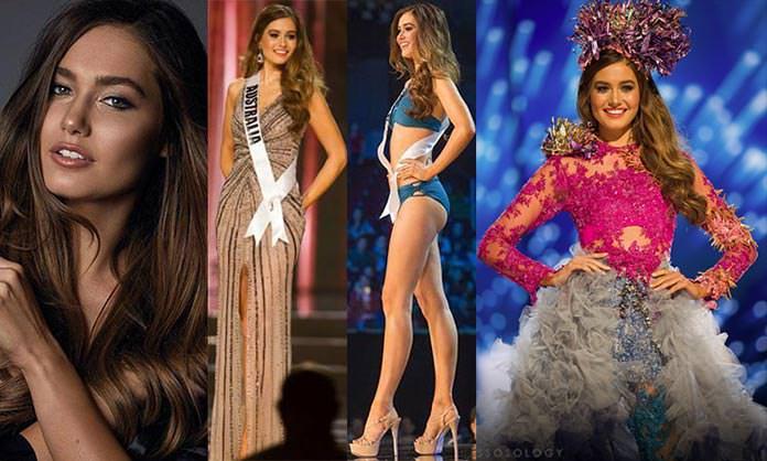 Miss Austrália 2016 - Caris Tiivel