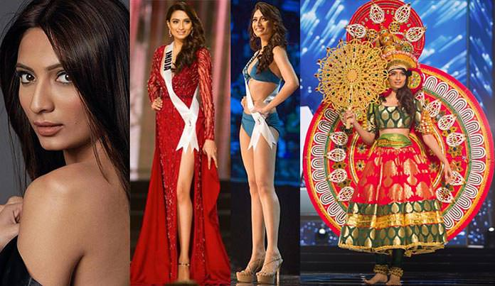 Miss Índia 2016 - Roshmitha Harimurthy