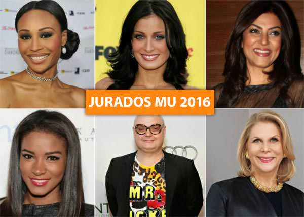 Jurados do Miss Universo 2016