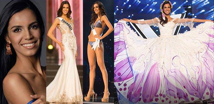 Miss Paraguai 2016 - Andrea Melgarejo