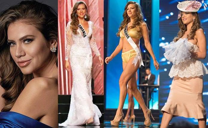 Miss Romênia 2016 - Teodora Dan