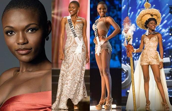 Miss Serra Leoa 2016 - Hawa Kamara