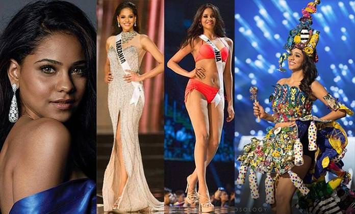 Miss Tanzânia 2016 - Jihan Dimachk