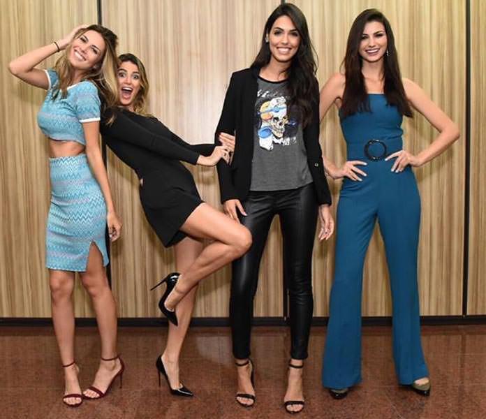 Francine Pantaleão, Bruna Michels, Fernanda Leme e Jessica Vilela