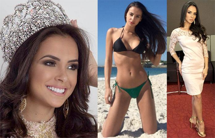 Miss Alagoas 2017 - Nathália Pastoura
