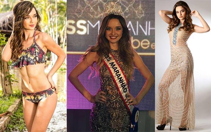 Miss Maranhão 2017 - Beatriz Nazareno