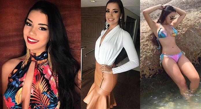 Miss Rondônia 2017 - Maria Clara Vicco