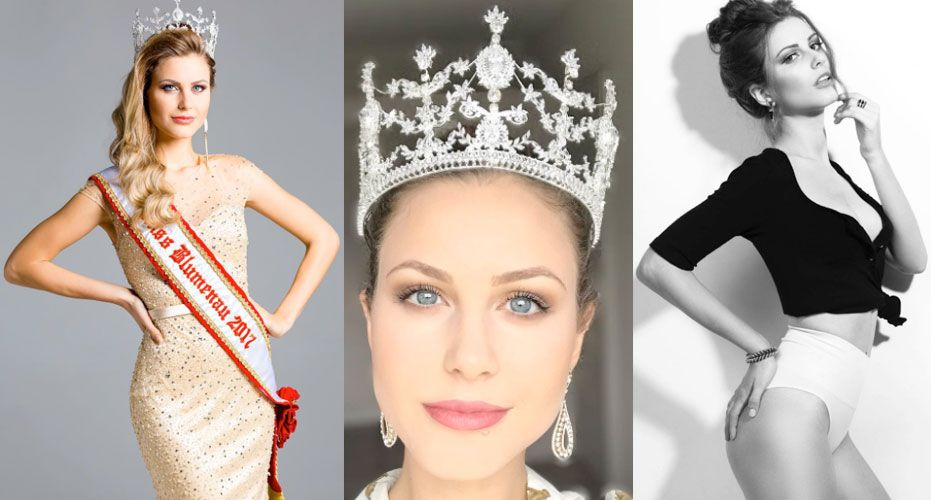 Miss Santa Catarina 2017 - Tamíris Gallois Ficht