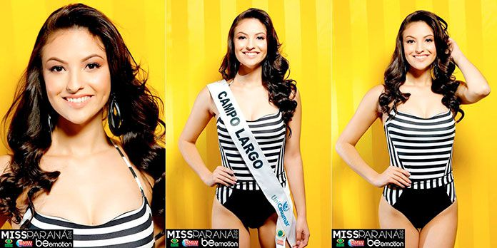 Miss Campo Largo - Marcela Sanches