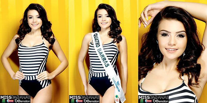 Miss Quatro Barras - Marcela Germano