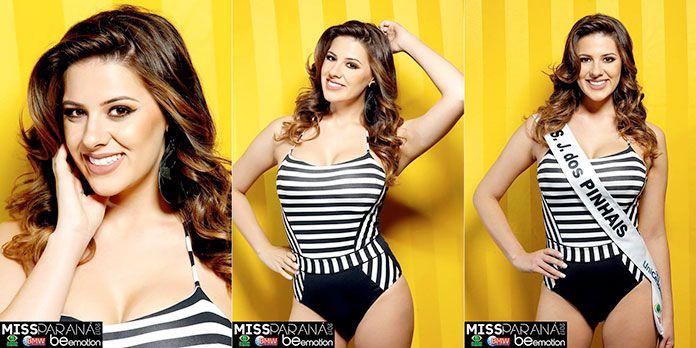 Miss São José dos Pinhais - Caroline Fernanda dos Santos