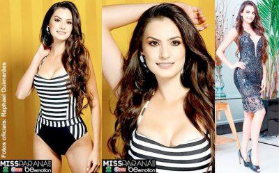 Patrícia Garcia é eleita Miss Paraná 2017; veja as candidatas