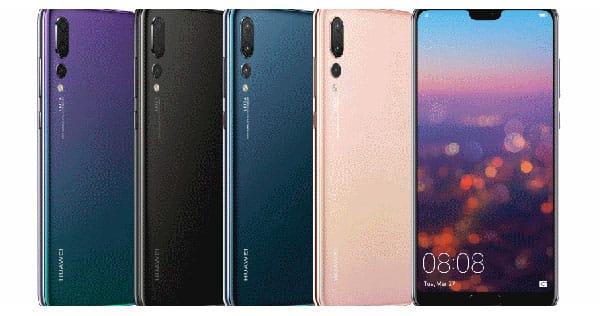 Fotos do Huawei P20 Pro