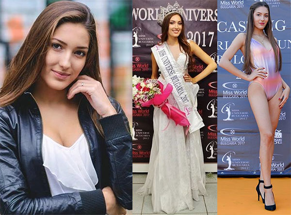 Miss Bulgária 2017 - Mira Simeonova