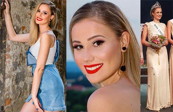 Miss Eslovênia 2017 - Emina Ekic