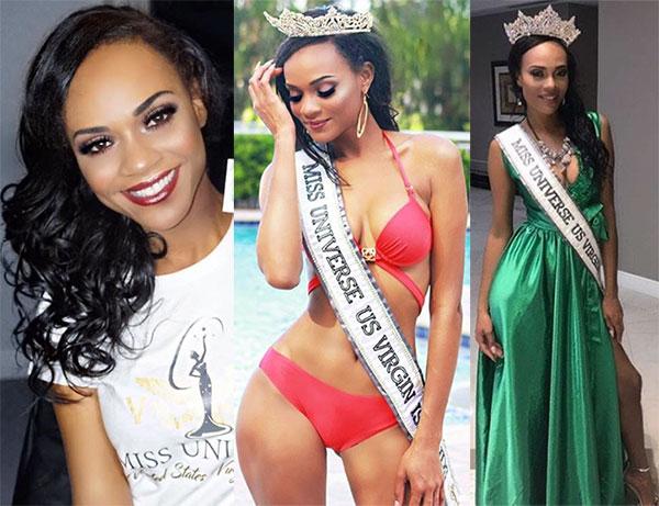 Miss Ilhas Virgens Americanas 2017 - Esonica Veira