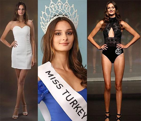 Miss Turquia 2017 - Pinar Tartan