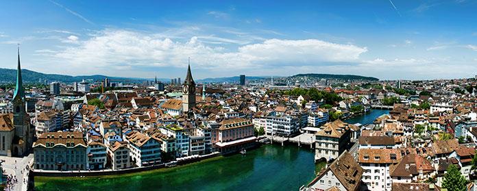 Panorâmica de Zurique