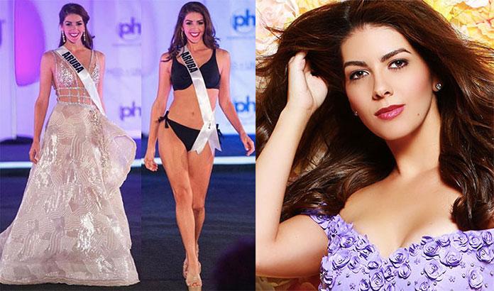 Miss Aruba 2017 - Alina Mansur
