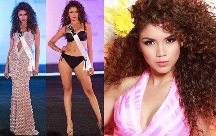 Miss Bolívia 2017 - Gleisy Noguer Hassen
