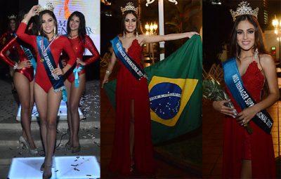 Cearense conquista título de beleza internacional no Panamá!