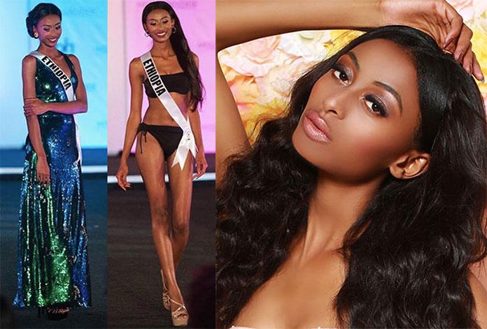 Miss Etiópia 2017 - Akinahom Zergaw