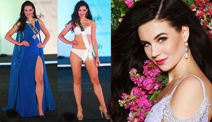 Miss Finlândia 2017 - Michaela Söderholm