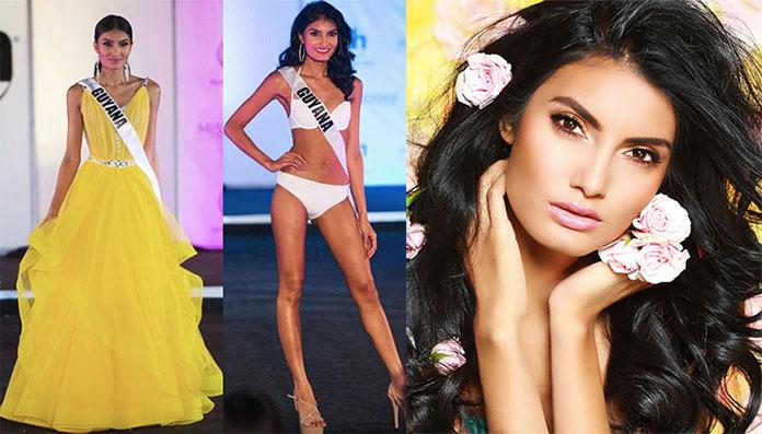 Miss Guiana 2017 - Rafieya Husain