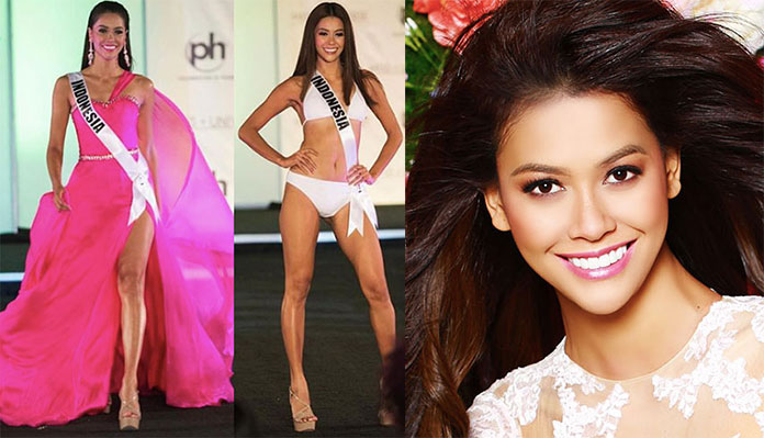 Miss Indonésia 2017 - Bunga Jelitha Ibrani