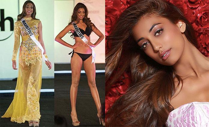 Miss Maurício 2017 - Angie Callychurn
