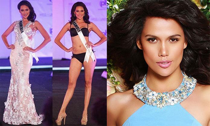 Miss Namíbia 2017 - Suné January