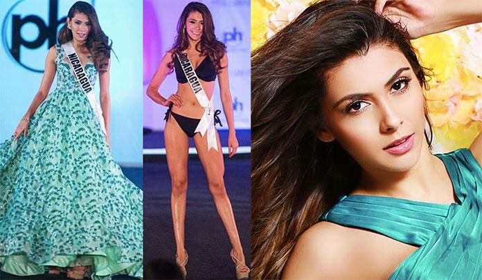 Miss Nicarágua 2017 - Berenice Quezada Herrera