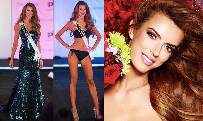 Miss Romênia 2017 - Ioana Mihalache