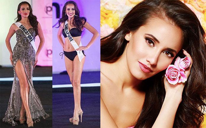 Miss Singapura 2017 - Manuela Bruntraeger