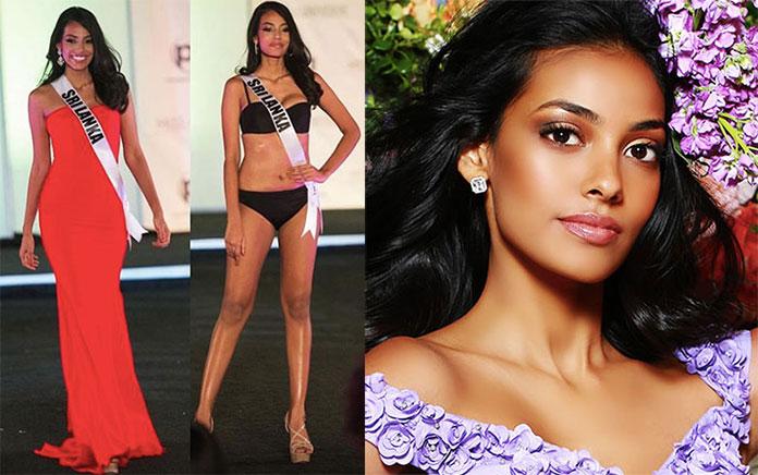 Miss Sri Lanka 2017 - Christina Peiris