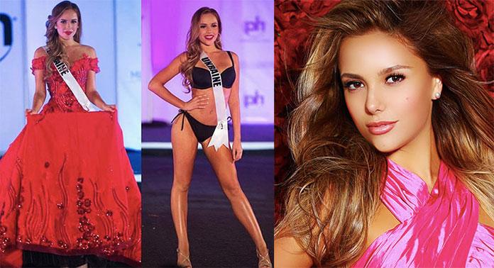 Miss Ucrânia 2017 - Yana Krasnikova