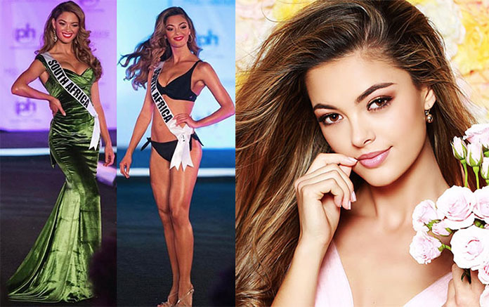 Miss África do Sul 2017 - Demi-Leigh Nel-Peters