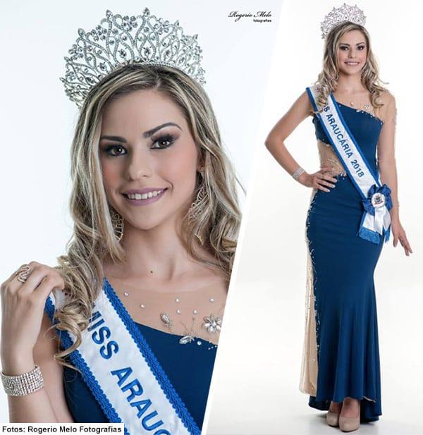 Miss Araucária - Vivian Vieira