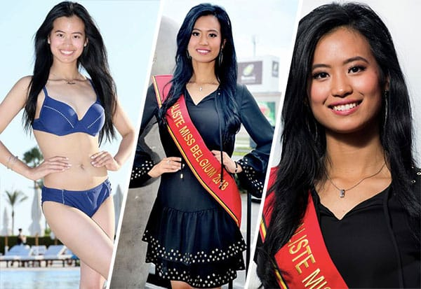 Miss Bélgica 2018 - Angeline Flor Pua