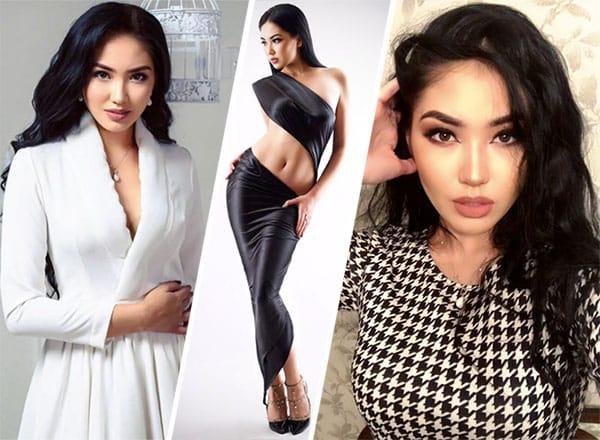 Miss Cazaquistão 2018 - Sabina Azimbayeva