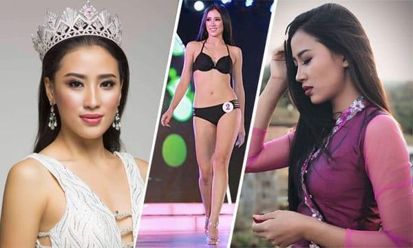 Miss Myanmar 2018 - Hnin Thway Yu Aung
